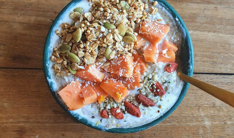 Smothie Bowl, desayuno perfecto.