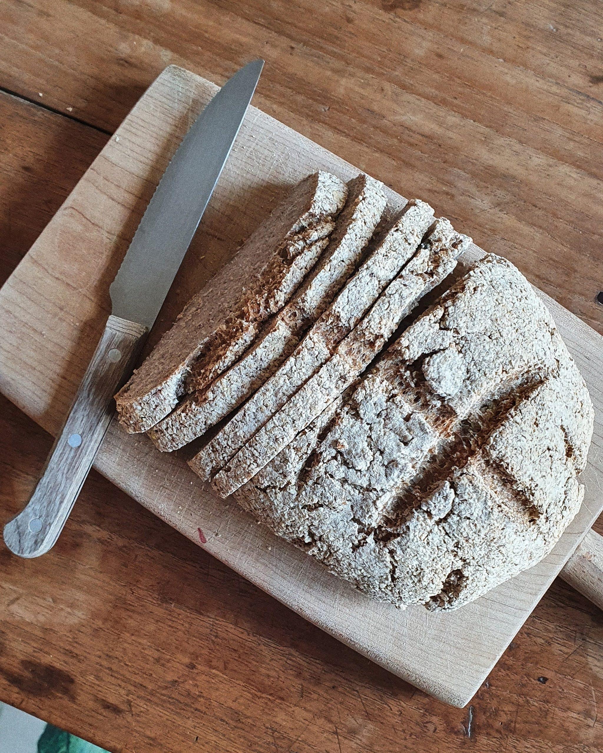 Imagen de pan de trigo sarraceno